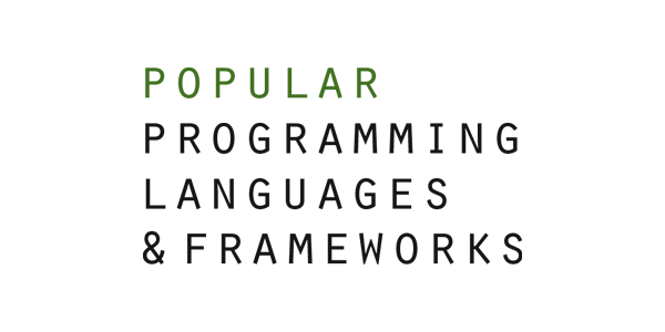 Popular Programming Languages & Frameworks